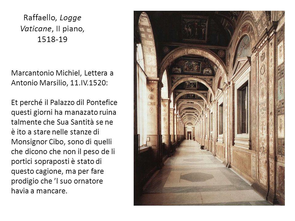 Raffaello, Logge Vaticane, II piano, 1518-19