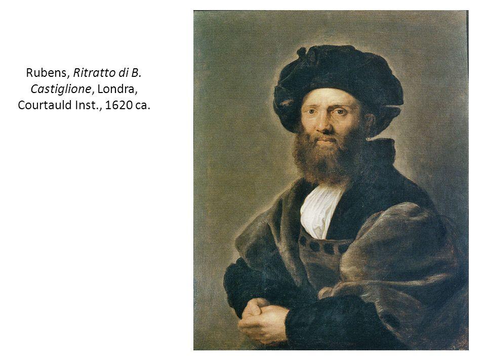 Rubens, Ritratto di B. Castiglione, Londra, Courtauld Inst., 1620 ca.