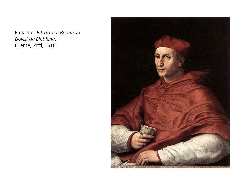 Raffaello, Ritratto di Bernardo Dovizi da Bibbiena, Firenze, Pitti, 1516