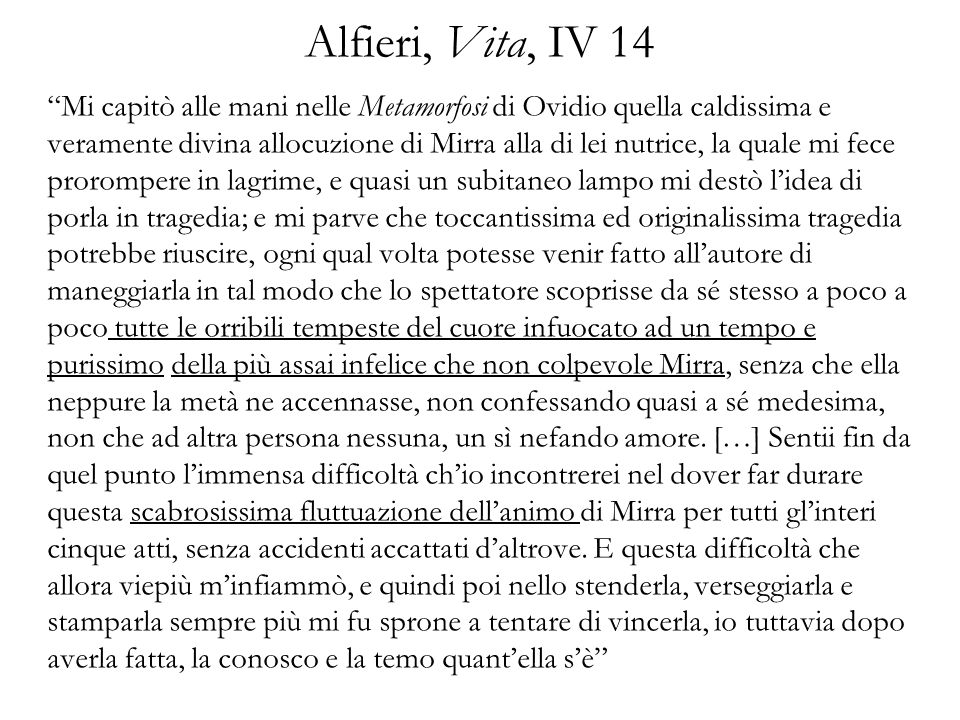 Alfieri, Vita, IV 14