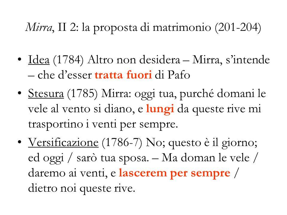 Mirra, II 2: la proposta di matrimonio (201-204)