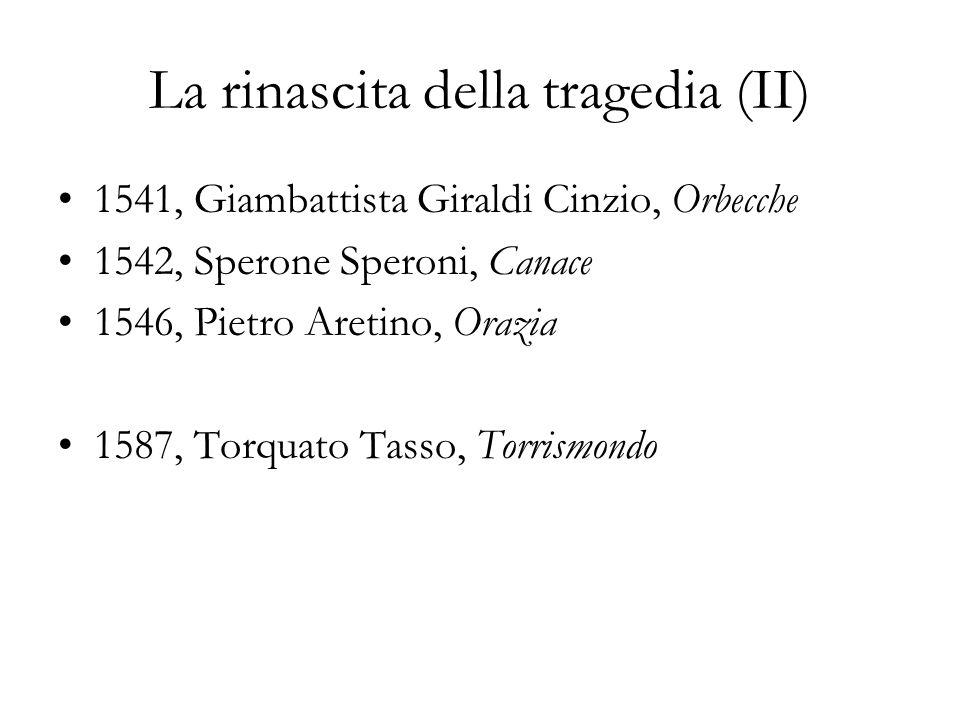La rinascita della tragedia (II)