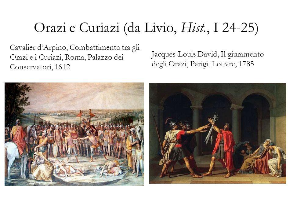 Orazi e Curiazi (da Livio, Hist., I 24-25)