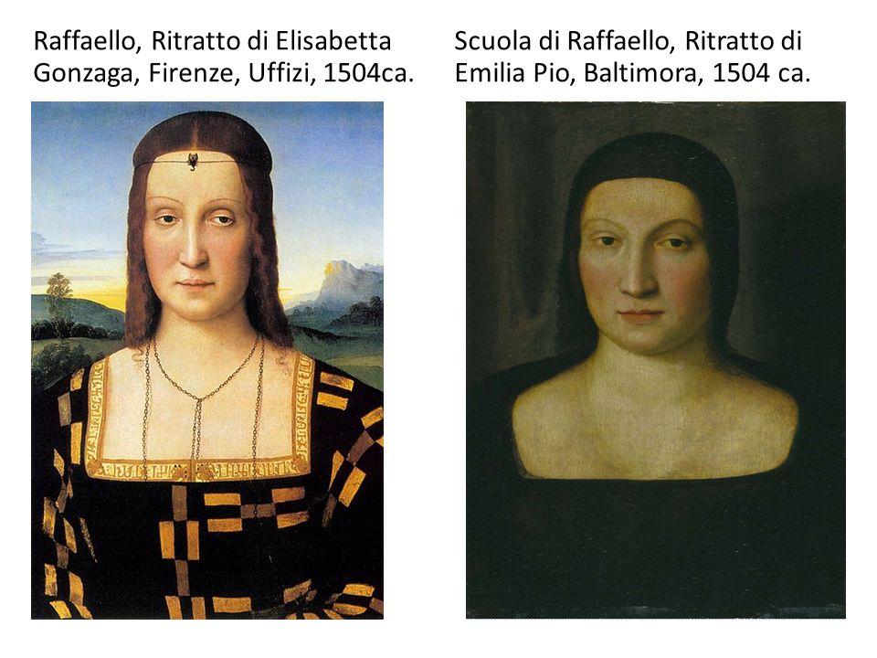 Raffaello, Ritratto di Elisabetta Gonzaga, Firenze, Uffizi, 1504ca.