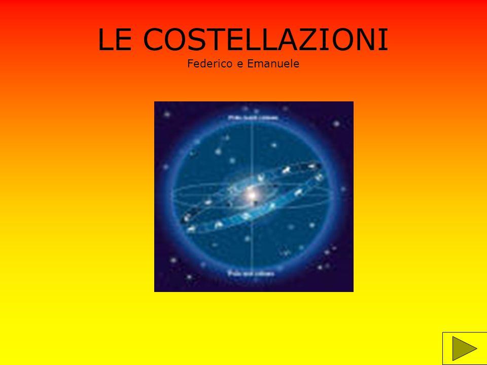 LE COSTELLAZIONI Federico e Emanuele