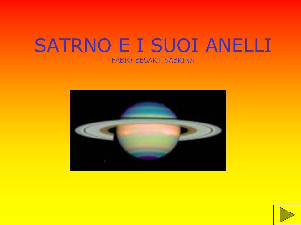 SATRNO E I SUOI ANELLI FABIO BESART SABRINA