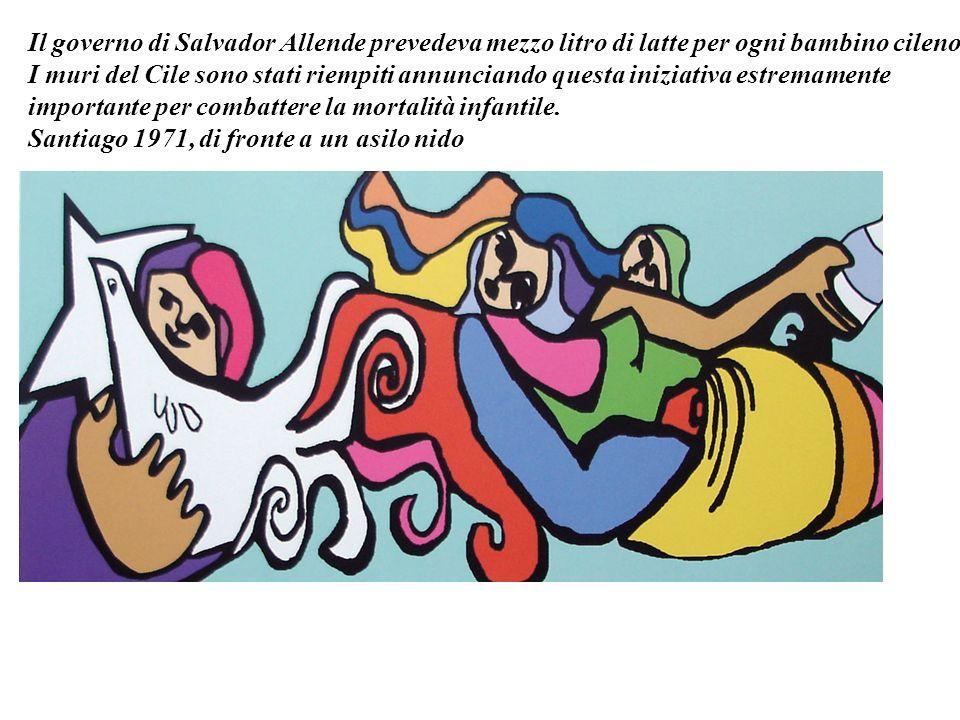 Il governo di Salvador Allende prevedeva mezzo litro di latte per ogni bambino cileno.