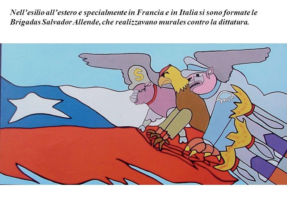 Nell'esilio all'estero e specialmente in Francia e in Italia si sono formate le