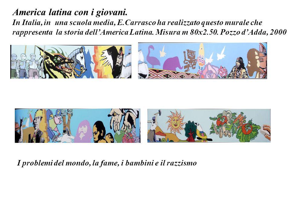 America latina con i giovani.