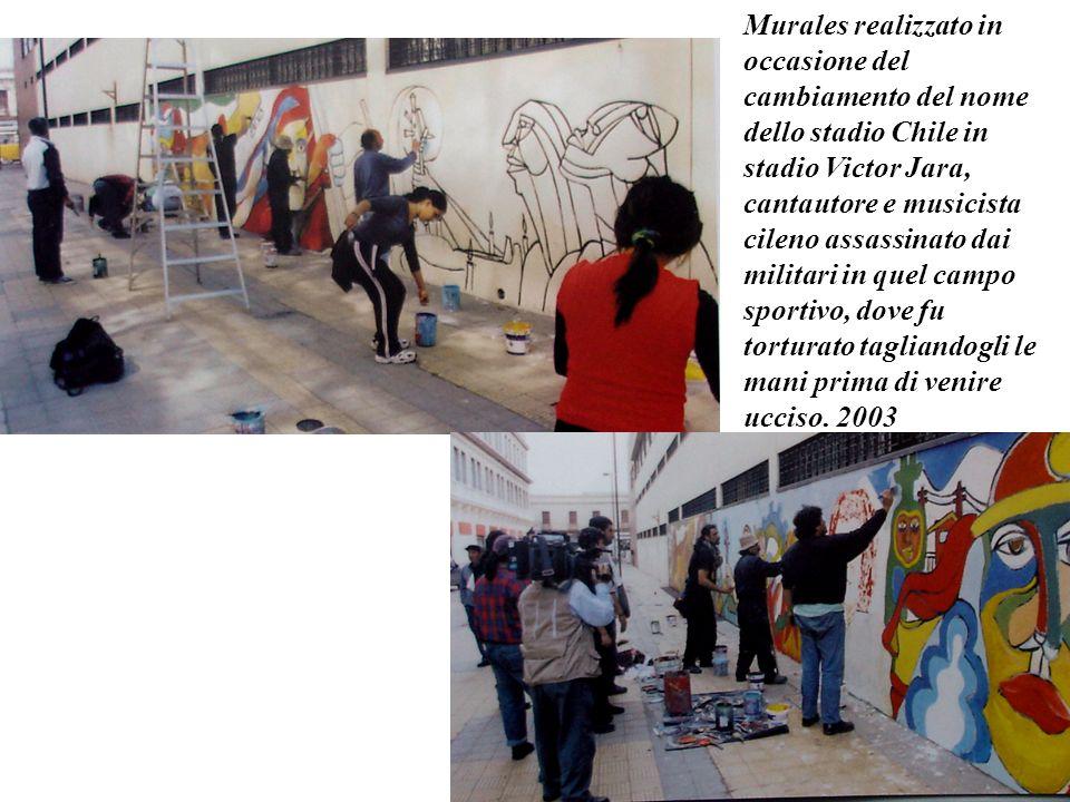 Murales realizzato in occasione del