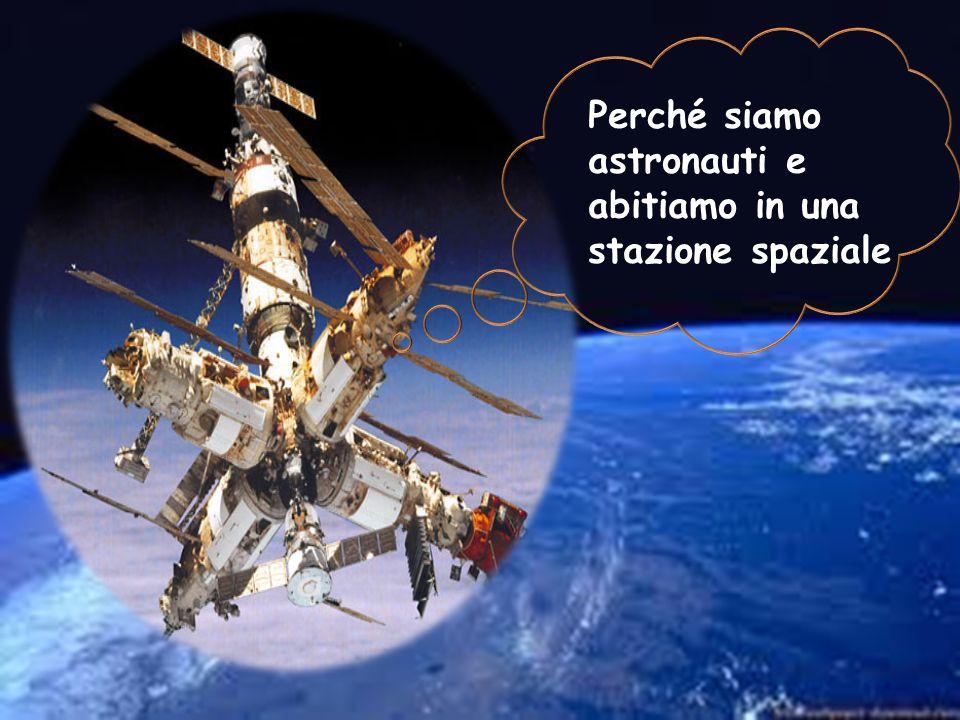 Perché siamo astronauti e abitiamo in una stazione spaziale
