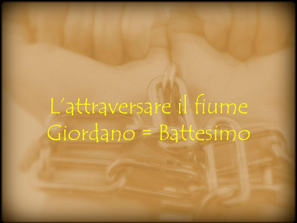 L'attraversare il fiume Giordano = Battesimo