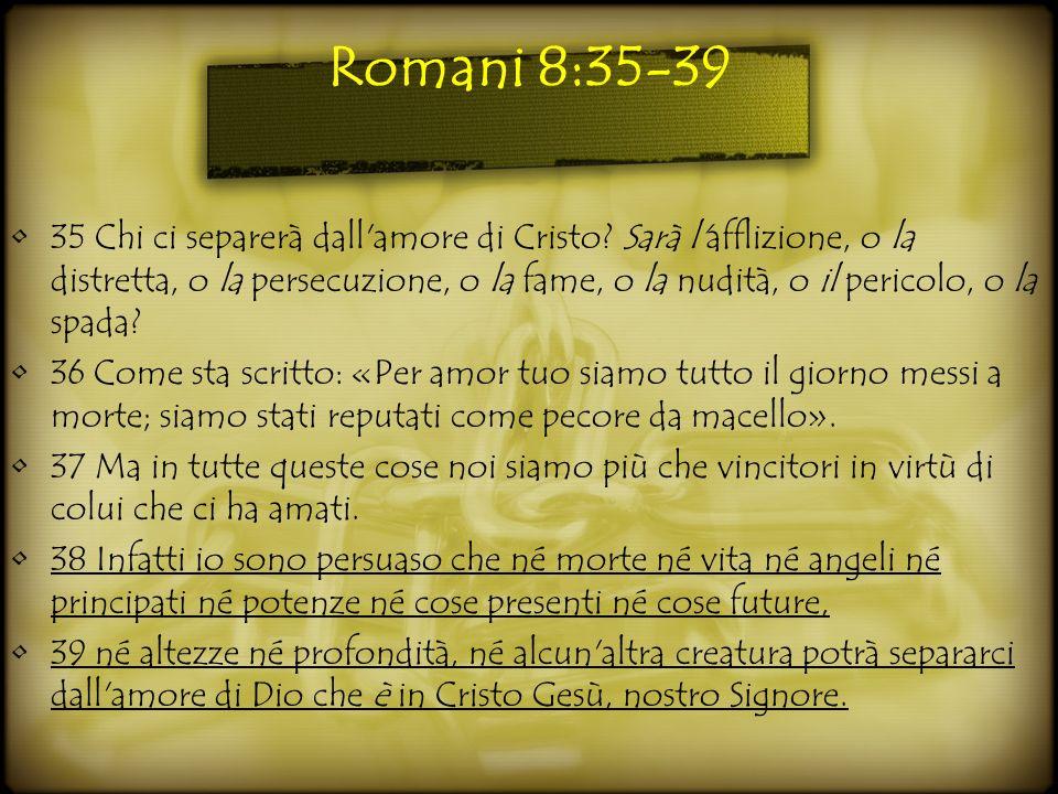 Romani 8:35-39
