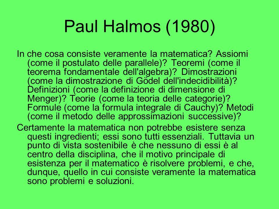 Paul Halmos (1980)