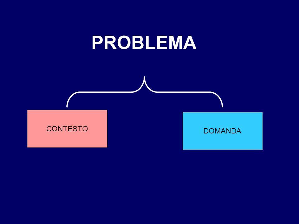 PROBLEMA CONTESTO DOMANDA