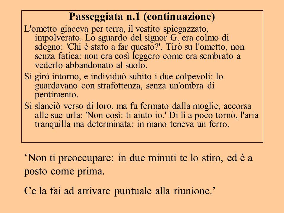 Passeggiata n.1 (continuazione)