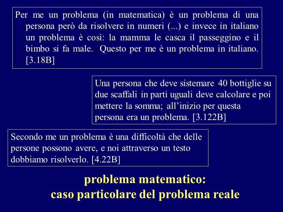 caso particolare del problema reale