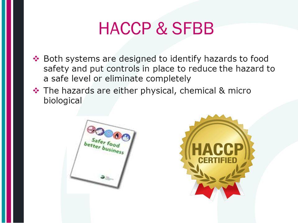 HACCP & SFBB