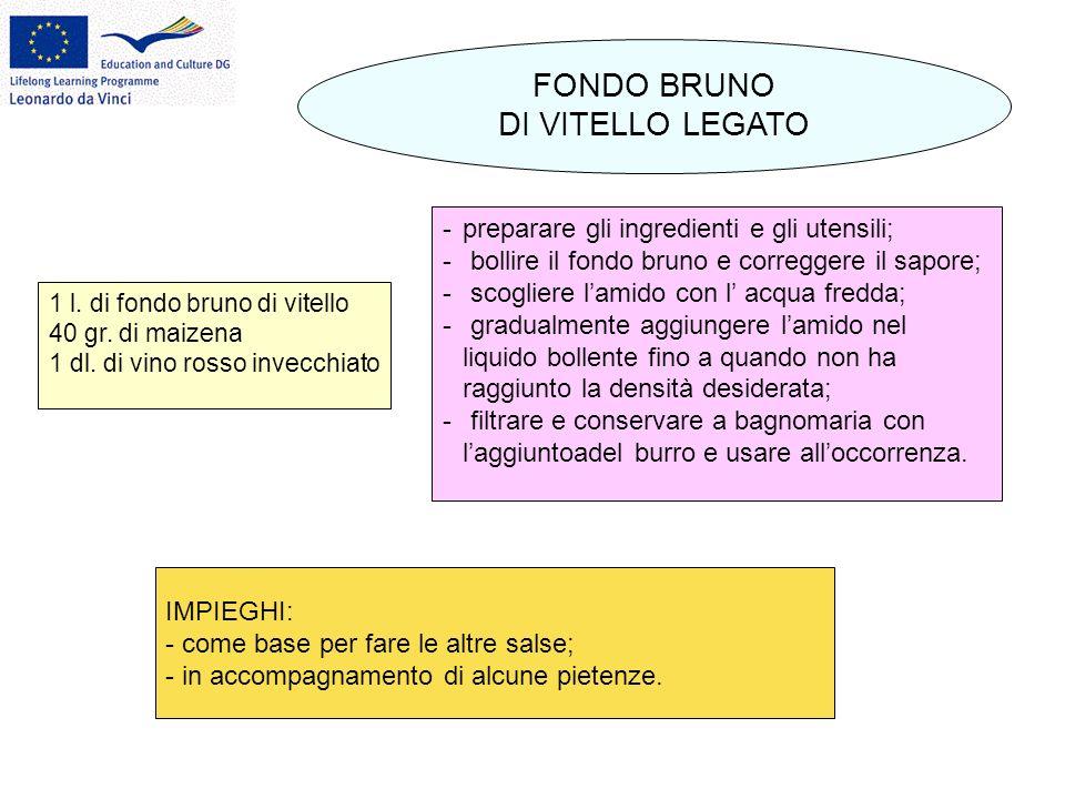 FONDO BRUNO DI VITELLO LEGATO