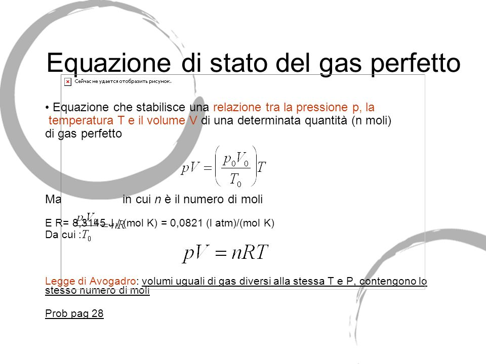 La temperatura ppt scaricare - Volumi uguali di gas diversi ...