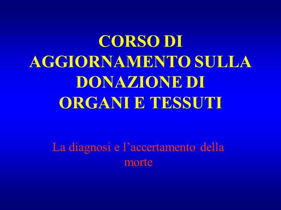 CORSO DI AGGIORNAMENTO SULLA DONAZIONE DI ORGANI E TESSUTI