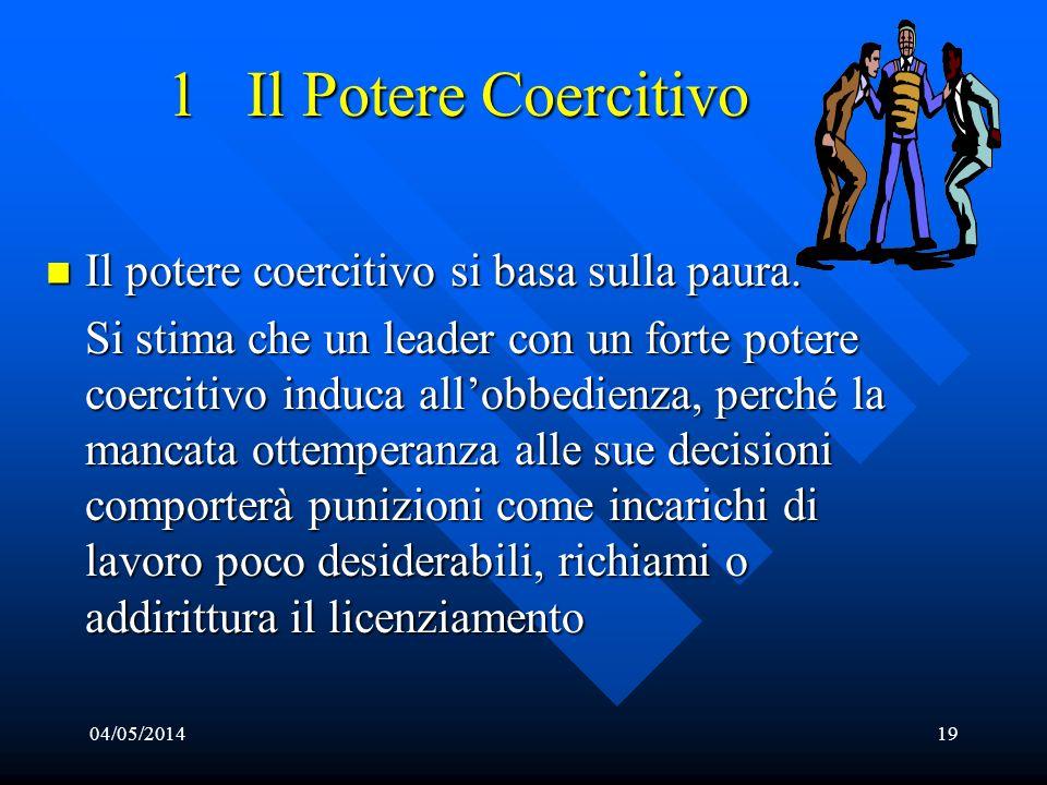 4 – Stile Direzionale Codice comune di comportamenti e di pensiero