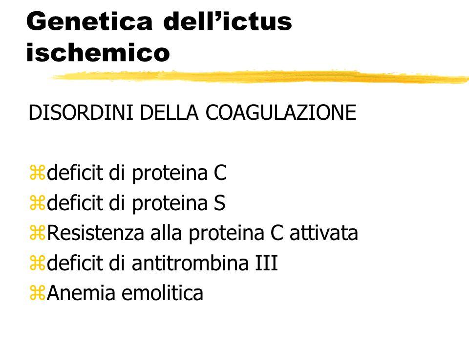 Genetica dell'ictus ischemico