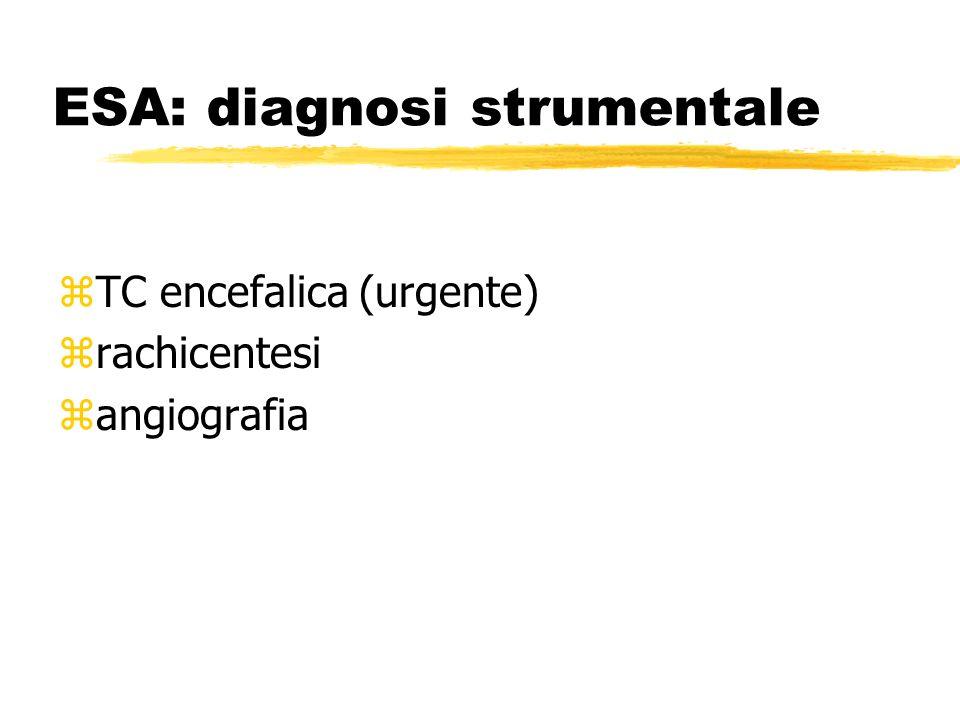 ESA: diagnosi strumentale