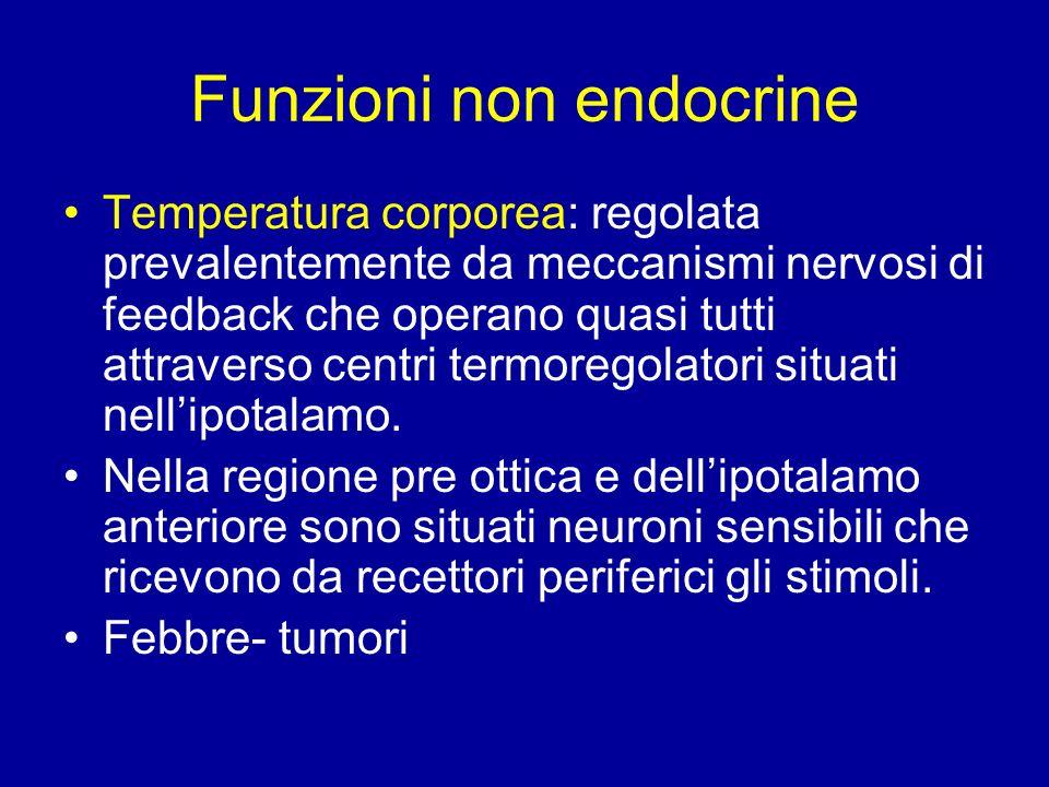 Funzioni non endocrine