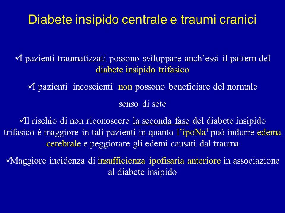 Diabete insipido centrale e traumi cranici