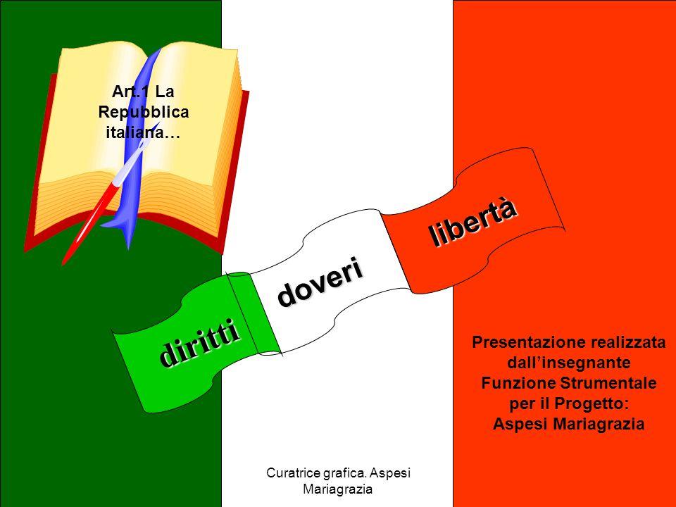 Art.1 La Repubblica italiana…