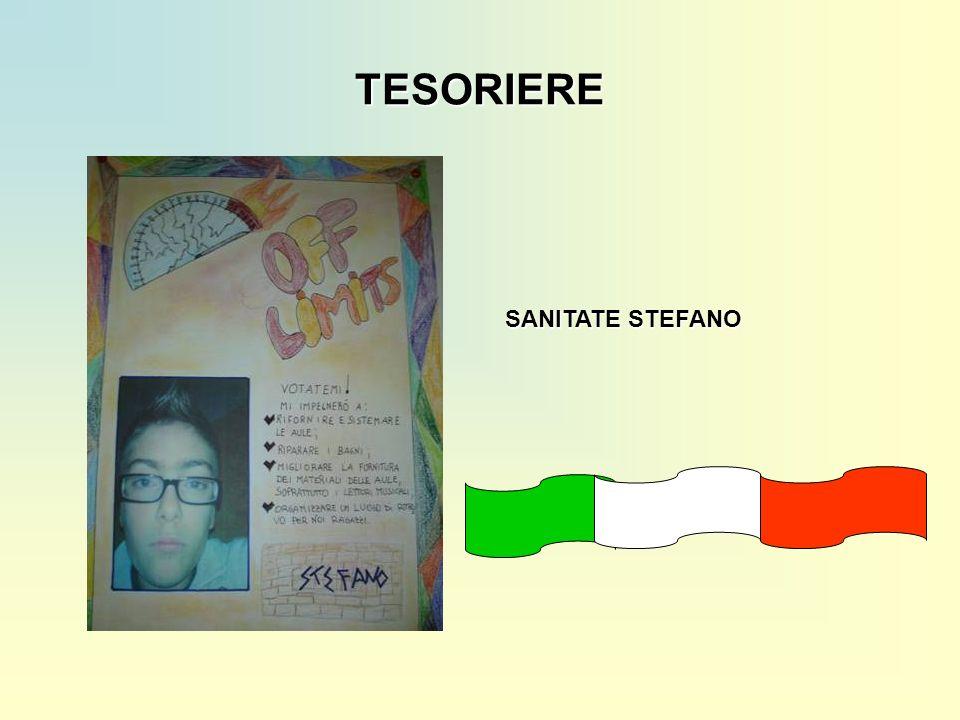 TESORIERE SANITATE STEFANO