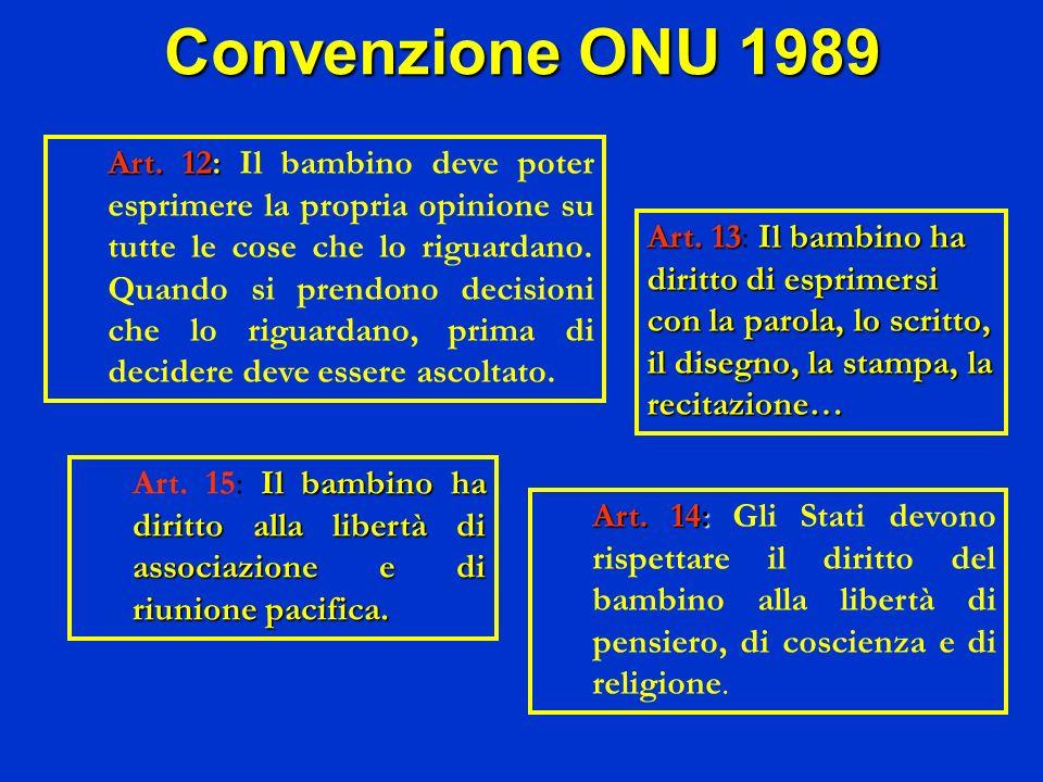 Convenzione ONU 1989