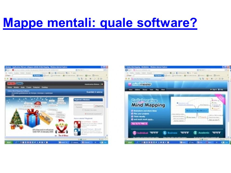 Mappe mentali: quale software