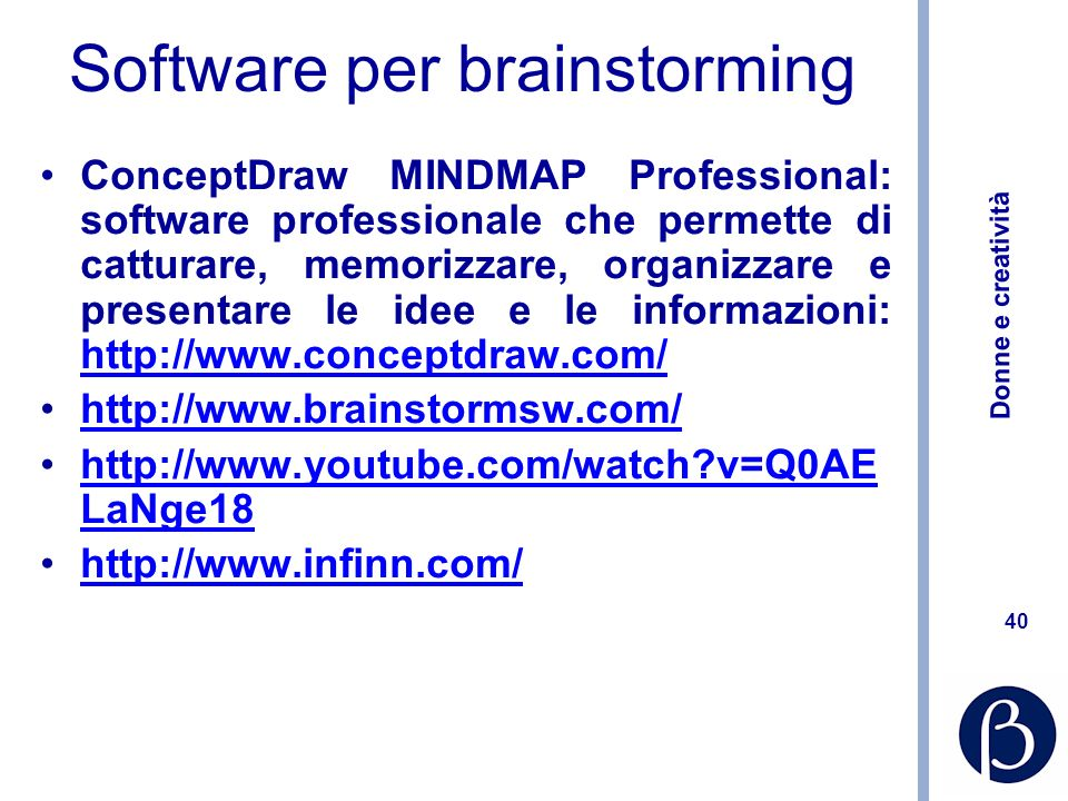 Software per brainstorming