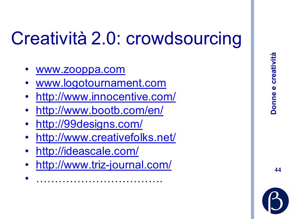Creatività 2.0: crowdsourcing
