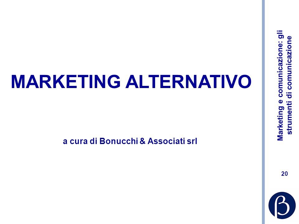 MARKETING ALTERNATIVO