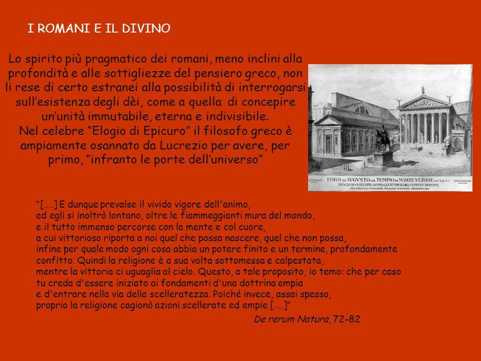 I ROMANI E IL DIVINO