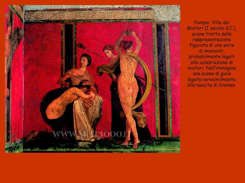 Pompei. Villa dei Misteri (I secolo d. C