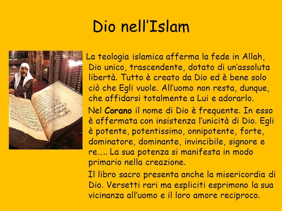 Dio nell'Islam