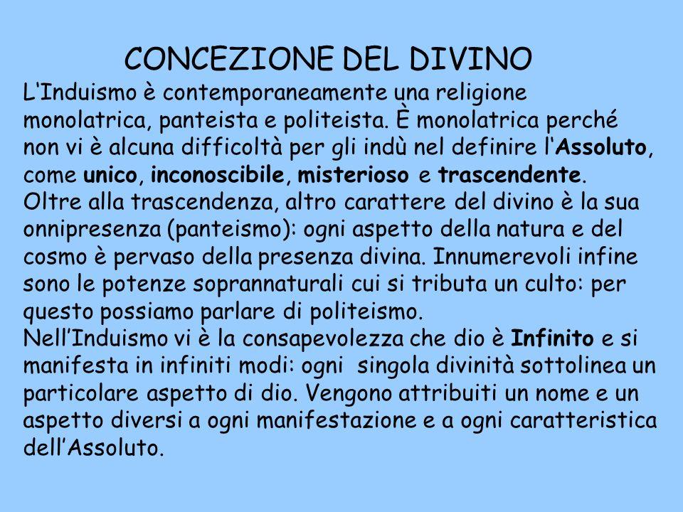 CONCEZIONE DEL DIVINO