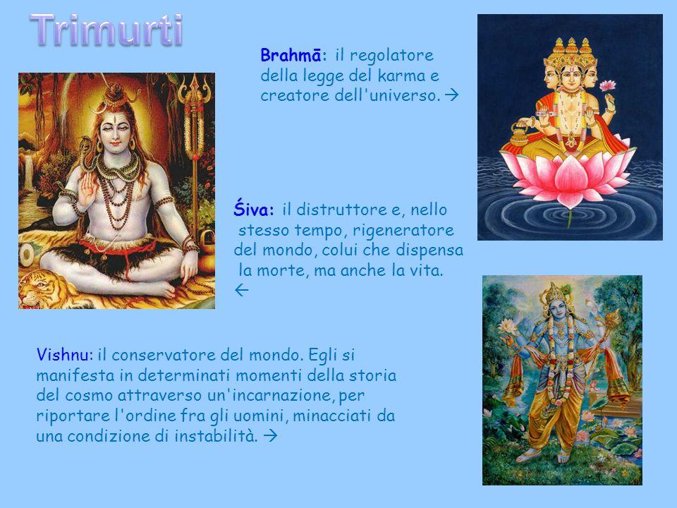 Trimurti Brahmā: il regolatore della legge del karma e