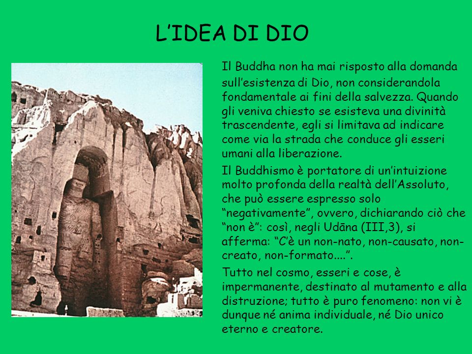 L'IDEA DI DIO