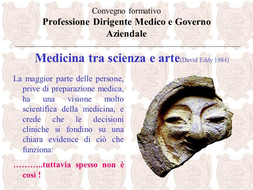 Convegno formativo Professione Dirigente Medico e Governo Aziendale