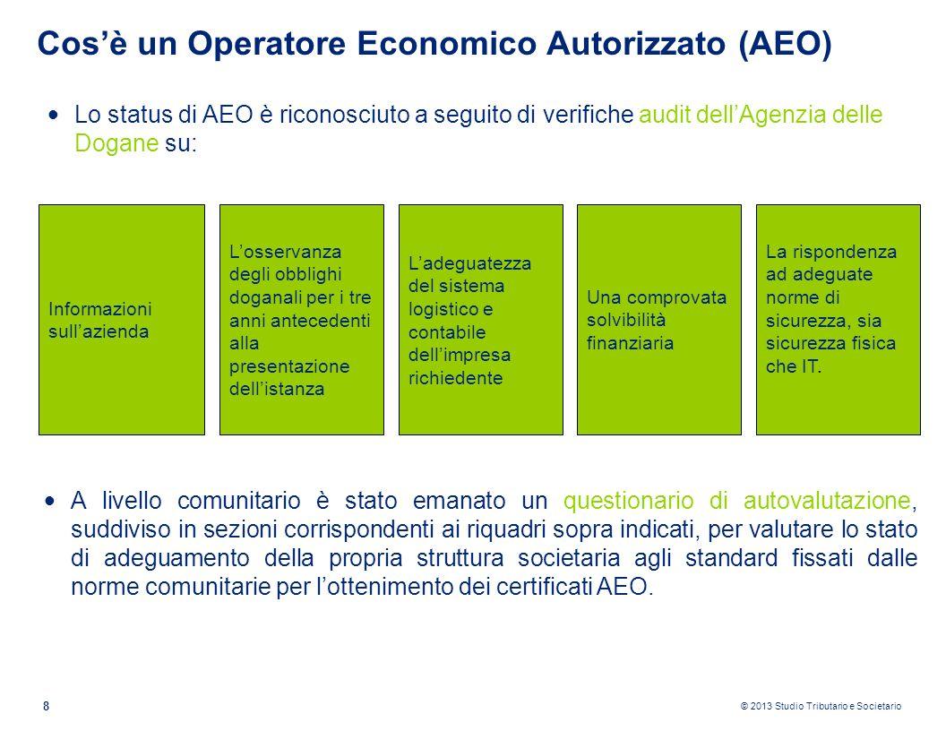 Cos'è un Operatore Economico Autorizzato (AEO)
