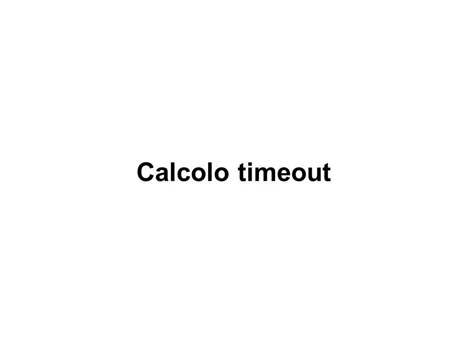 Calcolo timeout Modulo 2 - U.D. 5 - Lez. 6