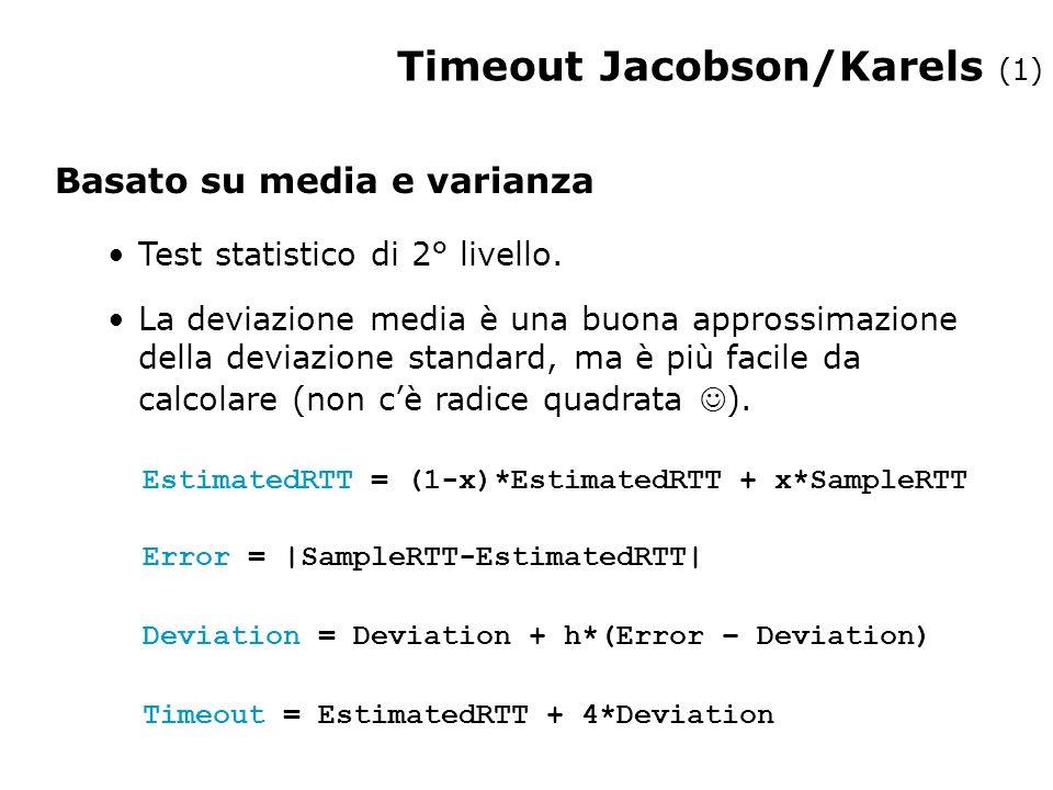 Timeout Jacobson/Karels (1)