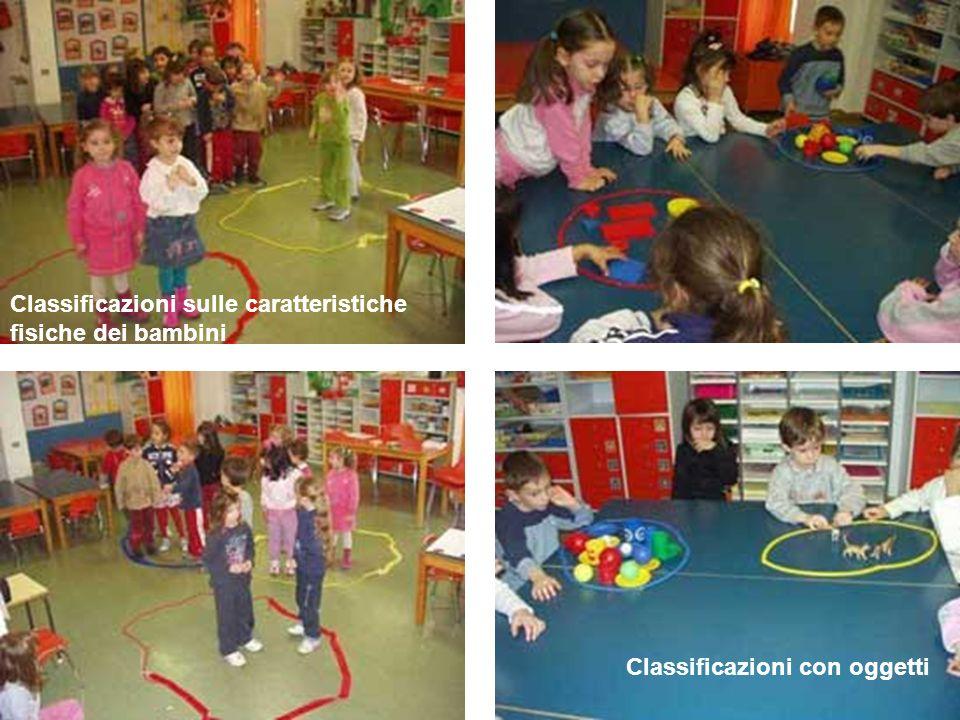 Classificazioni sulle caratteristiche fisiche dei bambini