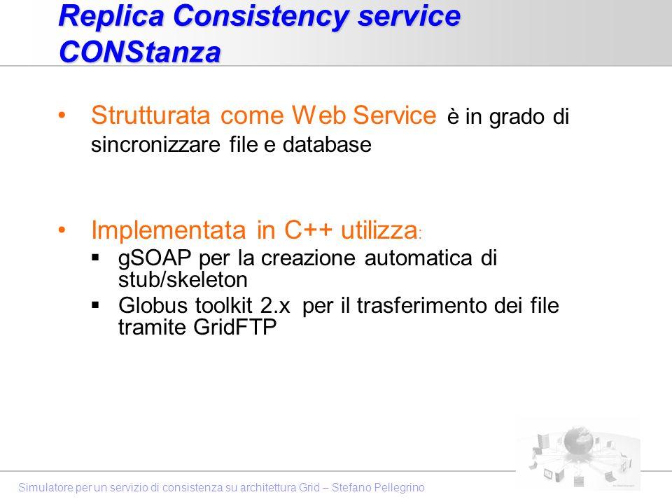 Replica Consistency service CONStanza