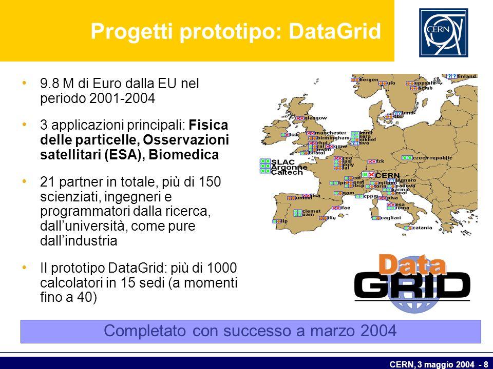 Progetti prototipo: DataGrid